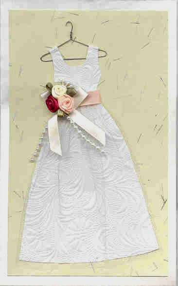 Wedding dress crafts